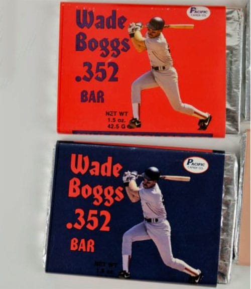 Wade Boggs .352 Bar – Chocolate by Pacific Candy Co.