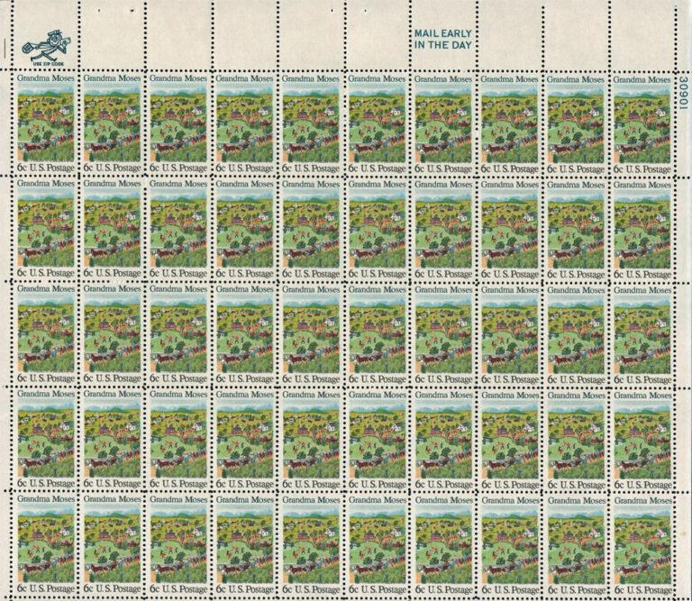 1969 Granda Moses Sheet