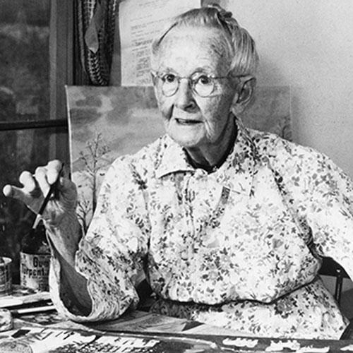 Anna Mary Robertson Moses (Grandma Moses)