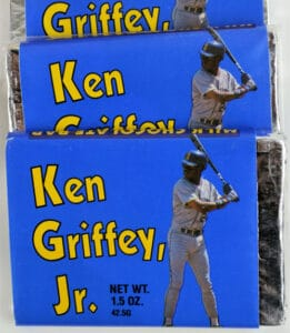 Ken Griffey, Jr. – Blue Chocolate Bar by Pacific Candy Co.