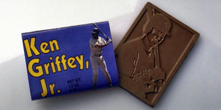Ken Griffey, Jr. – Chocolate Bar Unwrapped by Pacific Candy Co.