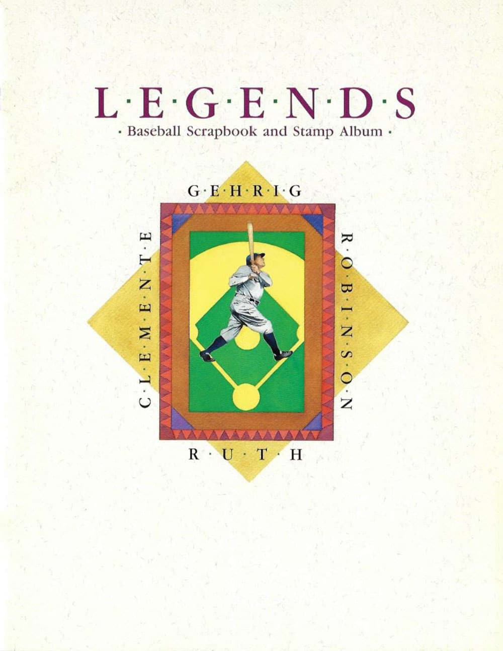 Legends – Baseball Scrapbook and Stamp Album
