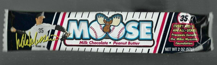 Mike Mussina – Moose Chocolate Candy Bar