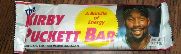The Kirby Puckett Bar – Chocolate Candy by Morley