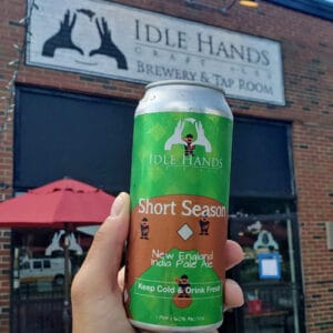 Short Season IPA by Idle Hands Brewery