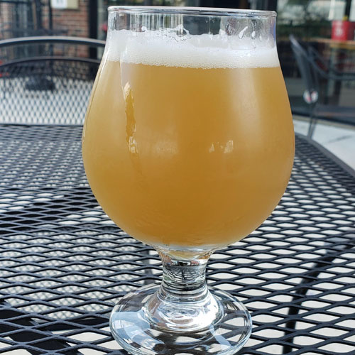 Short Season IPA Glass of Beer by Idle Hands Brewery