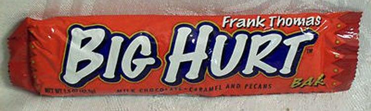 Frank Thomas – Big Hurt Chocolate Candy Bar by Morley