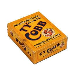Ty Cobb Candy Box – 5¢