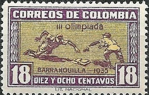 1935 Colombia Olympics – Baseball