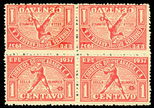 1937 Nicaragua – Central American Caribbean Games, Red Block