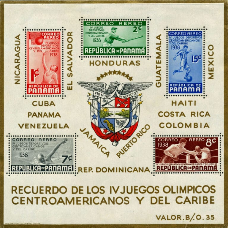 1938 Central American and Caribbean Games Stamps