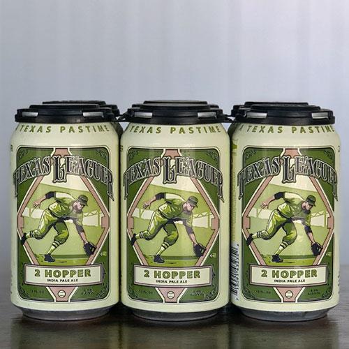 2 Hopper IPA Cans - Texas Leaguer Brewing