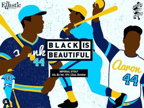 Black is Beautiful - Hank Aaron - Imperial Stout Beer