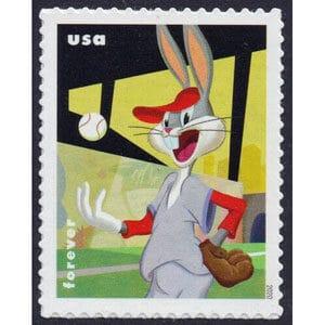 Baseball Bugs Bunny - USPS Postage Stamp, 2020