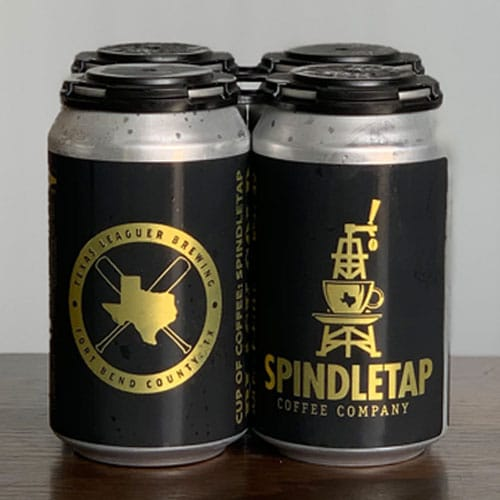 Cup of Coffee: Spindletap Cans - Texas Leaguer Brewing