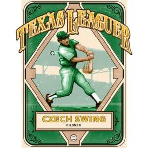 Czech Swing Pilsner - Texas Leaguer Brewing