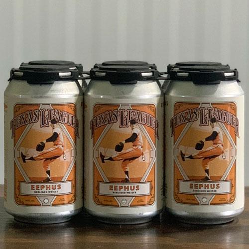 Eephus Berliner Weisse Cans - Texas Leaguer Brewing