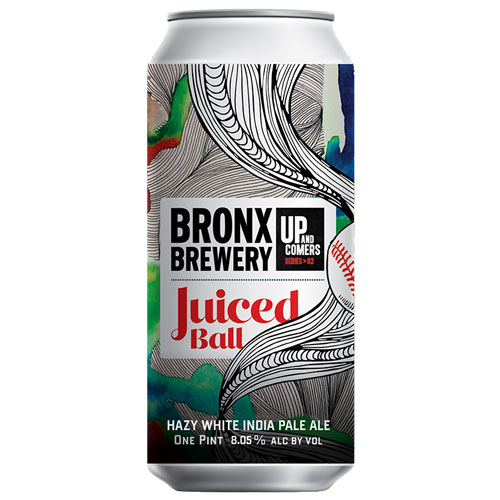 Juiced Ball Pearl-White Hazy IPA – Bronx Brewery