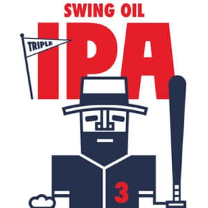 Swing Oil IPA Label Art