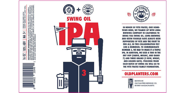 Swing Oil Triple IPA Beer for Pete Frates