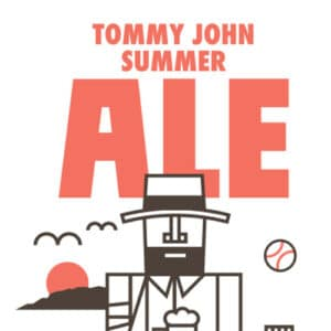 Tommy John Summer Ale Beer Label