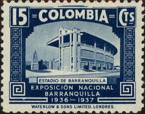 1937 Colombia – Barranquilla Baseball Stadium