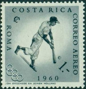 1960 Costa Rica – Olympic Games in Rome