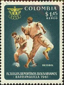 1961 Colombia – IV Juegos Deportivos Bolivarianos