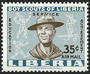 1961 Liberia – Boy Scouts of Liberia, 35¢