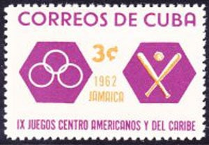 1962 Cuba – IX Juegos Centro Americanos y del Caribe