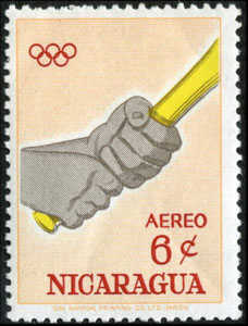 1963 Nicaragua – Olympic Games in Tokyo