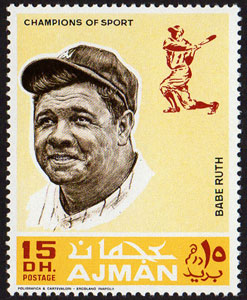1969 Ajman – Baseball Champions, Babe Ruth