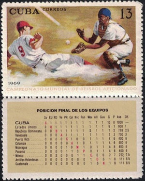 1969 Cuba – Cuba's Victory in the 17th World Championship