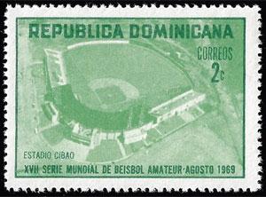 1969 Dominican Republic – XVII Serie Mundial de Beisbol Amateur, 2¢