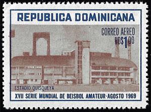 1969 Dominican Republic – XVII Serie Mundial de Beisbol Amateur, $1