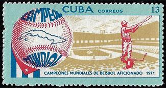 1971 Cuba – Campeonato Mundiales de Beisbol Aficionado, 13 centavos