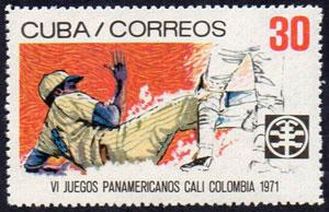 1971 Cuba – VI Juegos Panamericanos