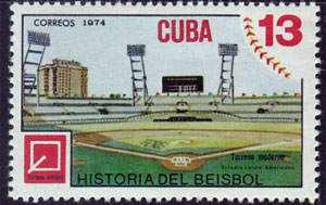 1974 Cuba – History of Baseball, Terreno Moderno