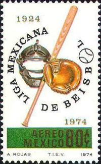 1974 Mexico – 50th Aniversario Liga Mexicana de Beisbol