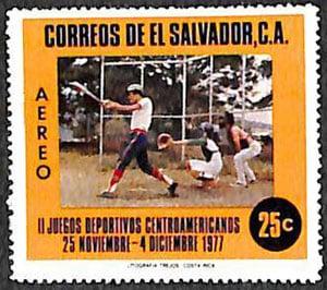 1977 El Salvador – II Juegos Deportivos Centroamericanos, baseball