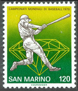 1978 San Marino – 25th Baseball World Cup, 120 Lire