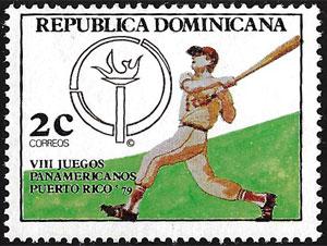 1979 Dominican Republic – VII Juegos Panamericanos
