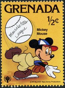 1979 Grenada – Sports, Walt Disney's Mickey Mouse