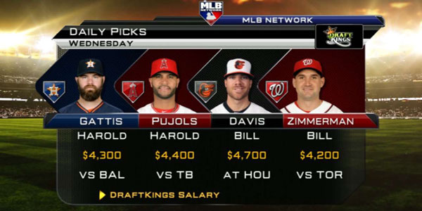 DraftKings on MLB Network