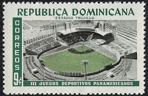 1959 Dominican Republic – III Juegos Deportivos Panamericanos