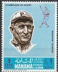 1969 Manama – Baseball Champions, Honus Wagner
