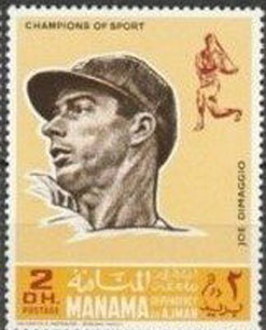 1969 Manama – Baseball Champions, Joe DiMaggio