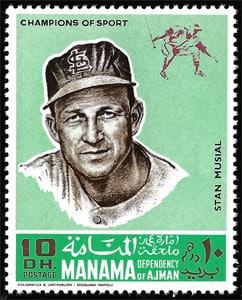 1969 Manama – Baseball Champions, Stan Musial