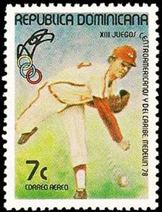 1978 Dominican Republic – XIII Juegos Centroamericanos y del Caribe