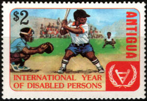 1981 Antigua – International Year of Disabled Persons